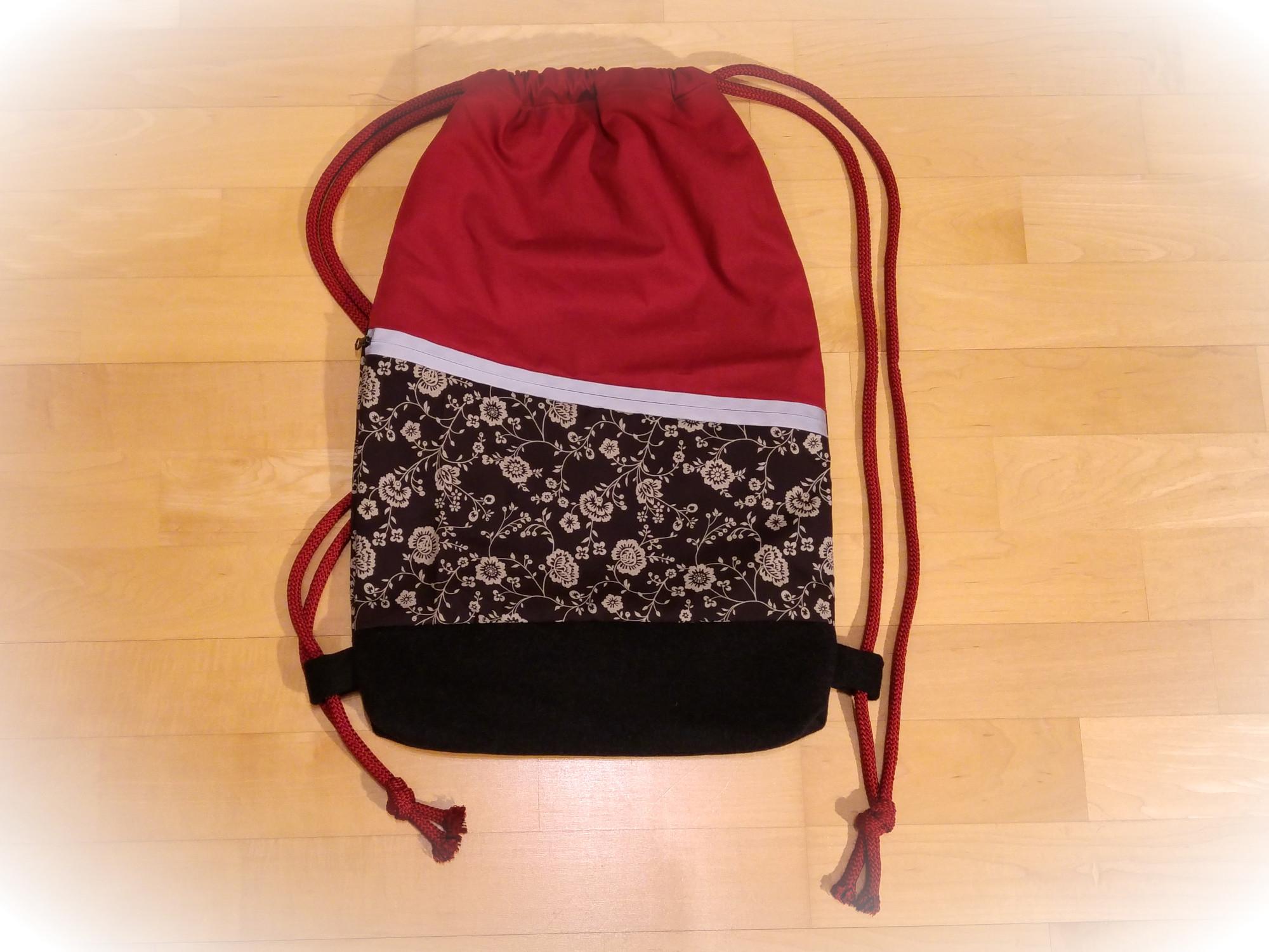 diy bag, handgenäht, turnbeutel, gym bag, unikat